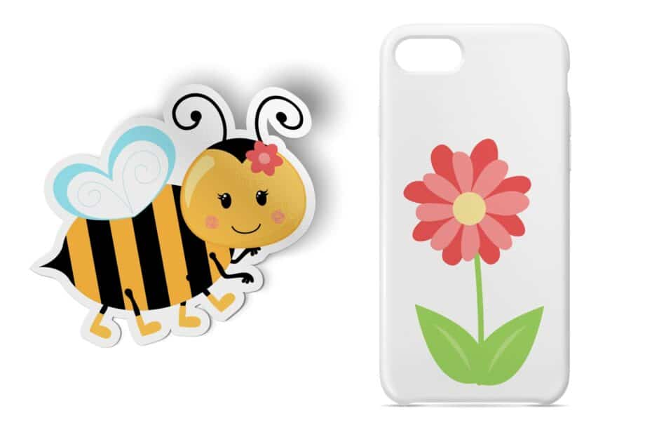 Bumble Bee Clipart Sample 4