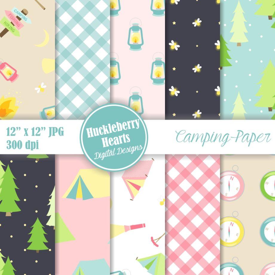 Camping Paper Sample