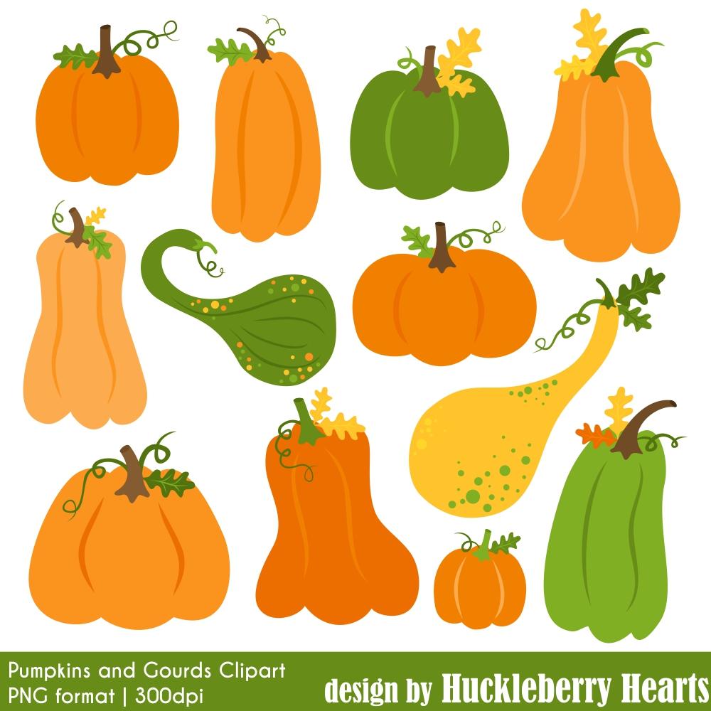 Pumpkin Clipart   Huckleberry Hearts
