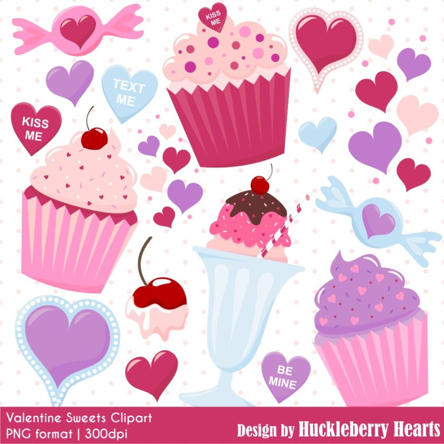 Valentine Sweets Clipart