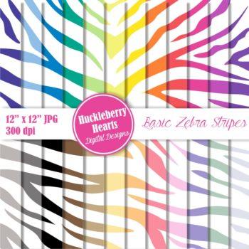 Zebra Stripes Paper