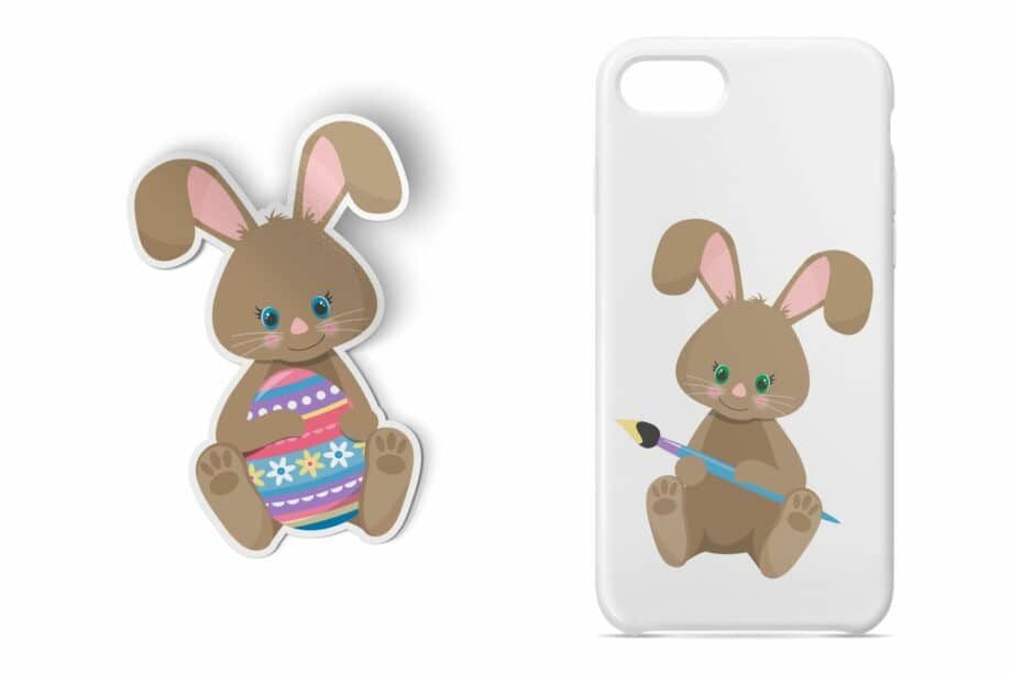 Easter Bunny Clipart Sample 4
