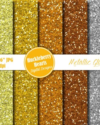 Metallic Glitter Digital Paper