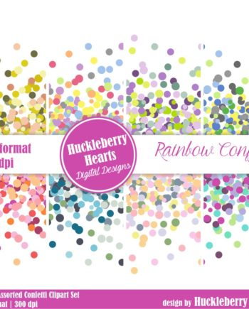 Assorted Confetti Clipart