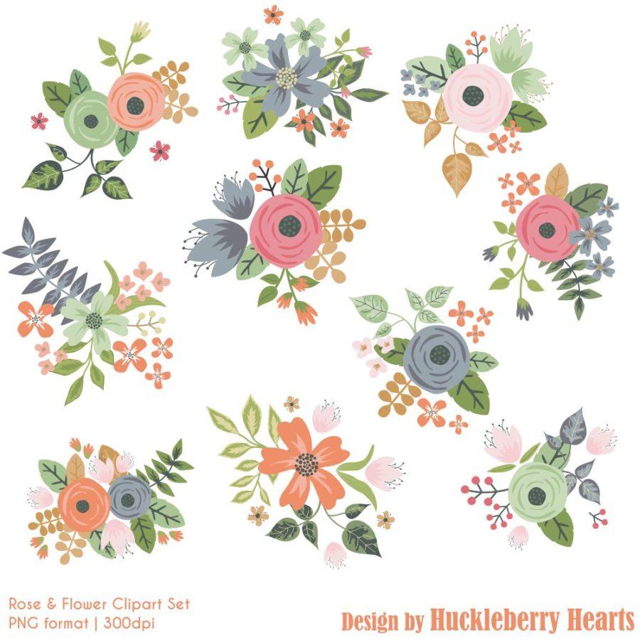 Rose Garden Clipart
