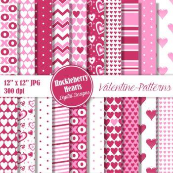 Valentine Patterns Paper