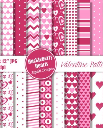 Valentine Patterns Paper