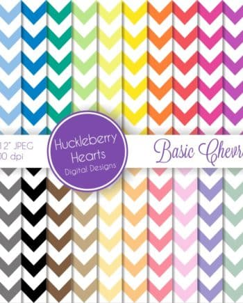 Basic Chevron Digital Paper