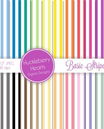 Basic Stripes Digital Paper