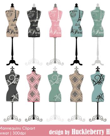 Dress Mannequin Clipart
