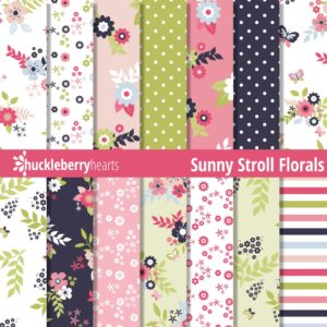Sunny Stroll Florals