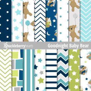 Goodnight Baby Bear Paper