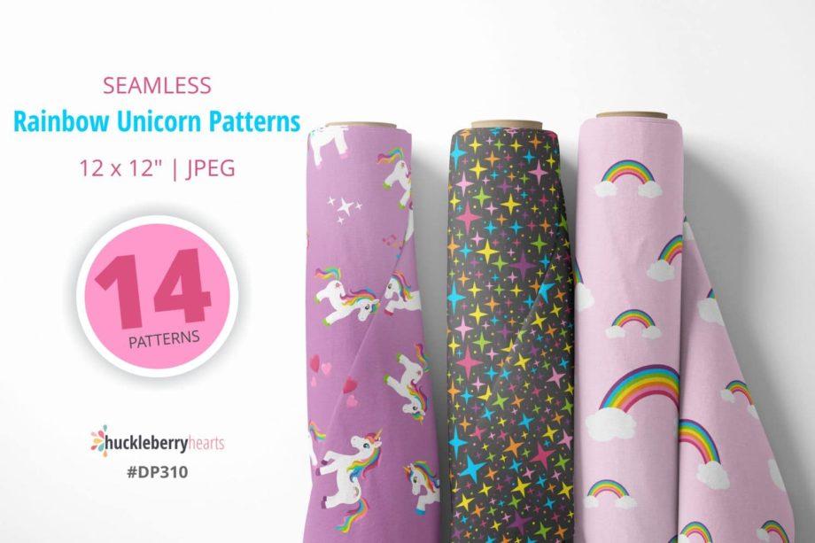 Rainbow Unicorn Paper Sample 5