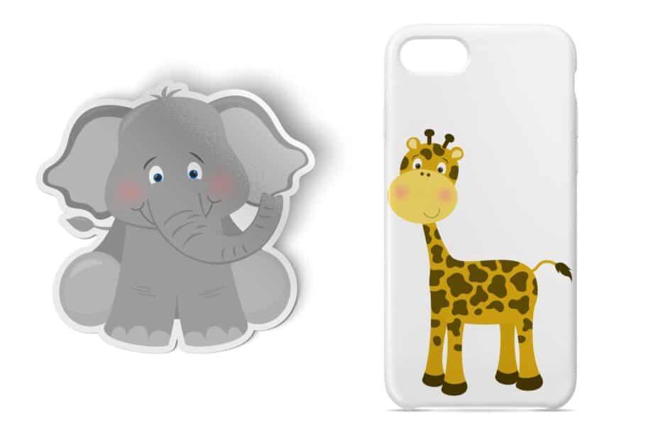 Safari Zoo Babies Sample 4