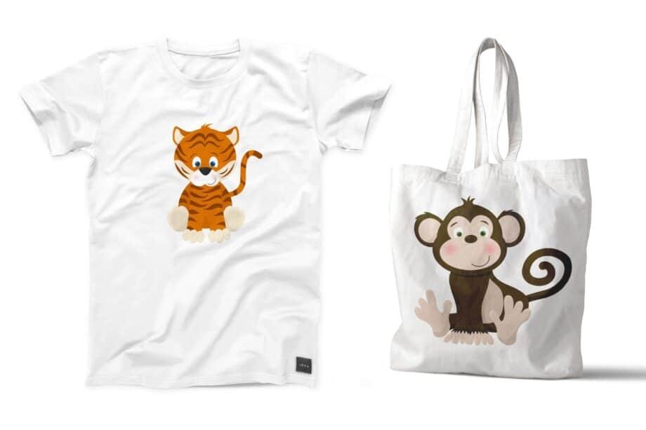 Safari Zoo Babies Sample 5