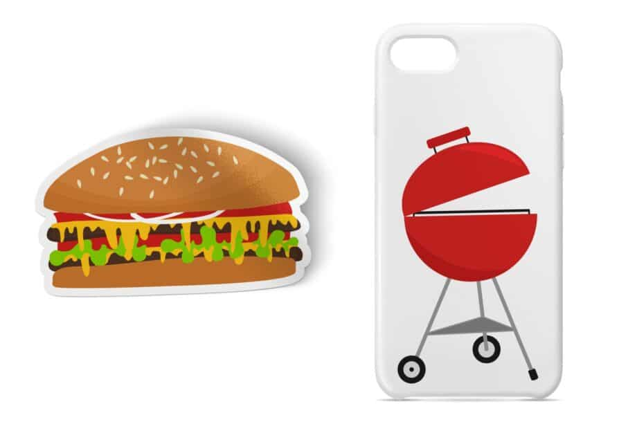 Summer BBQ Clipart Sample 4