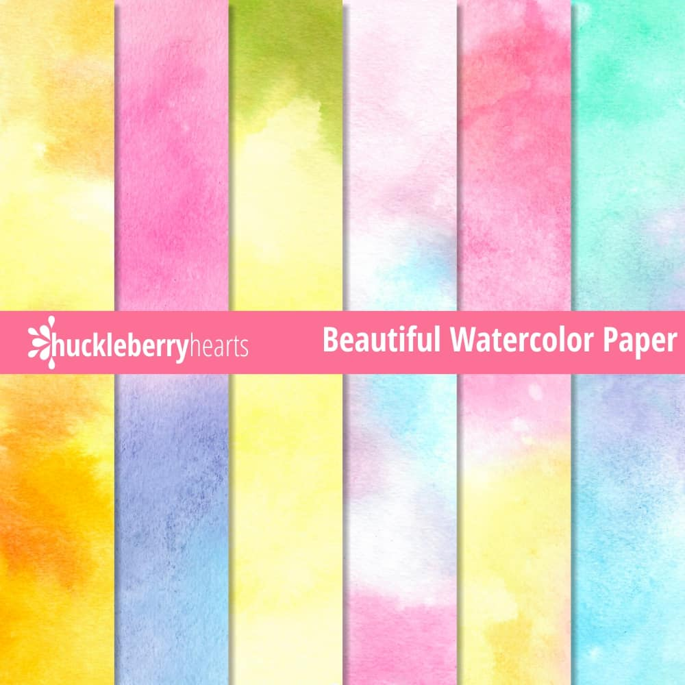 image about Printable Watercolor Paper referred to as Interesting Watercolor Paper