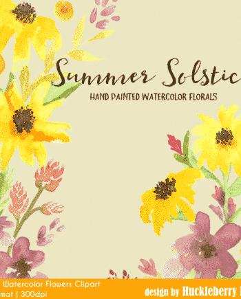 Summer Solstice Clipart