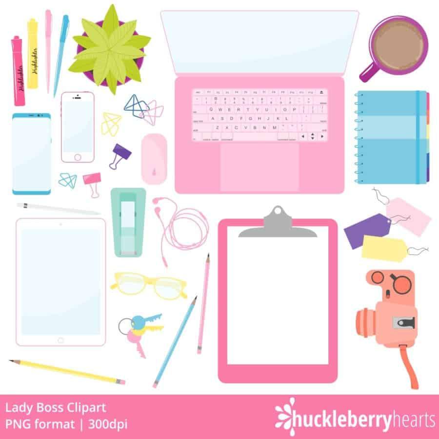 Lady Boss Clipart