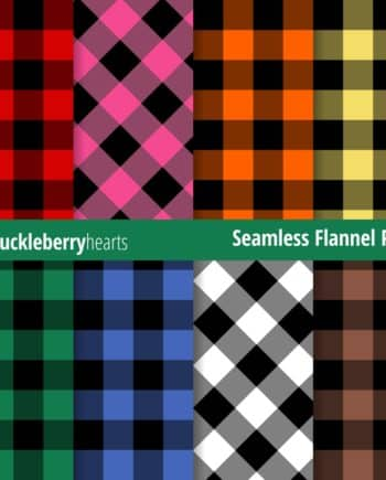 Seamless Flannel Paper