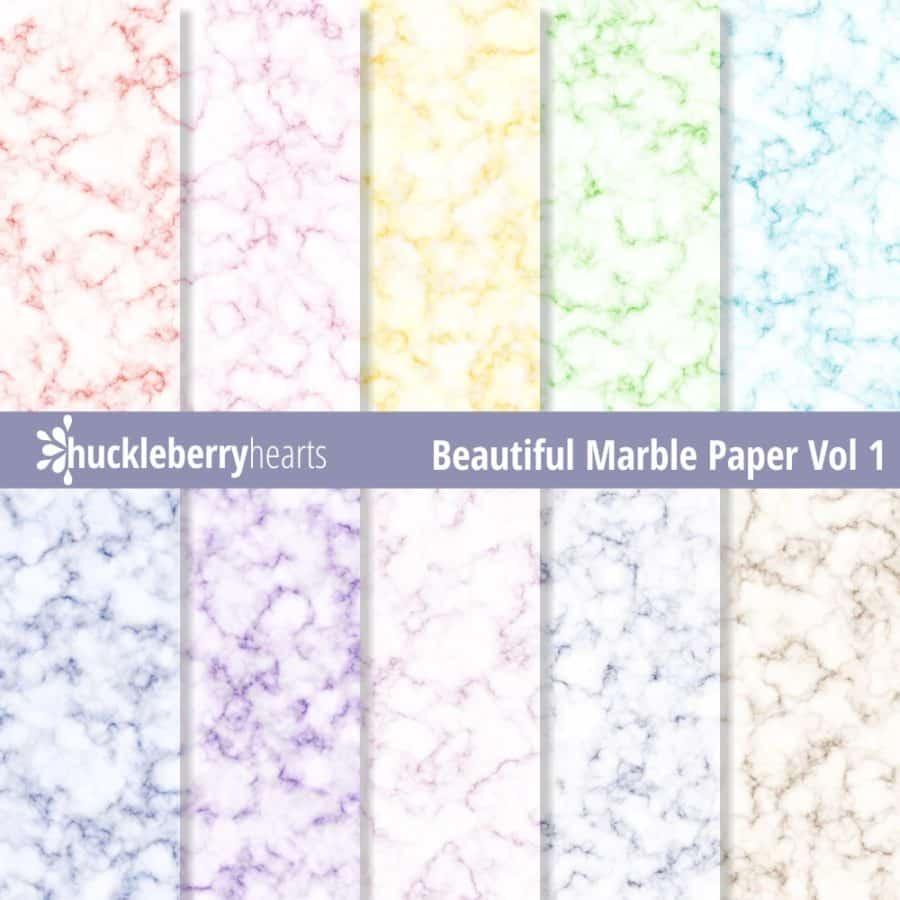 Beautiful Marble Paper vol 1