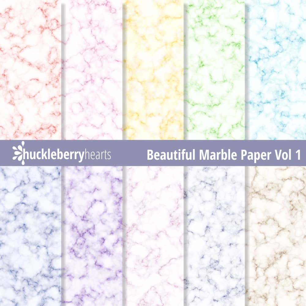 Beautiful Marble Paper vol 1