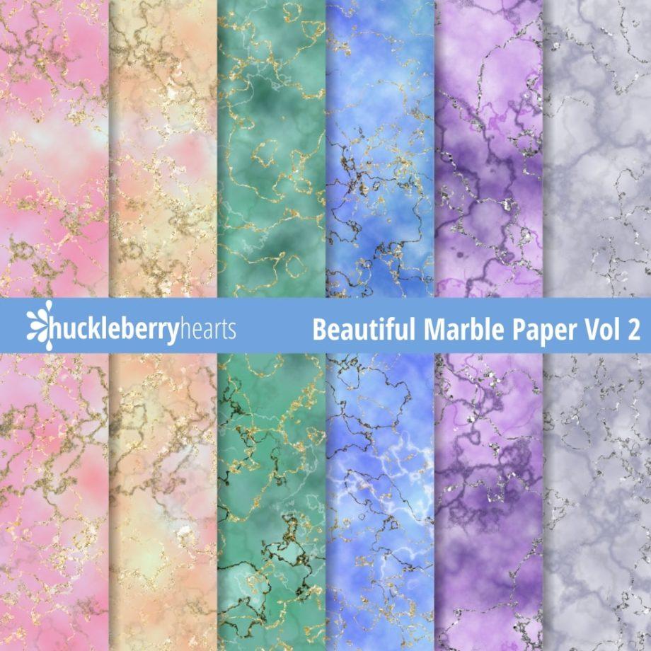 Beautiful Marble Paper vol 2