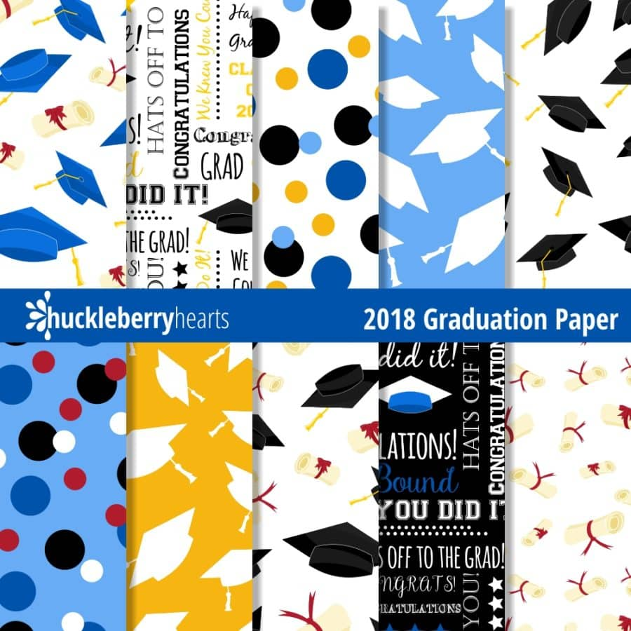 Digital Graduation Paper for Class of 2018