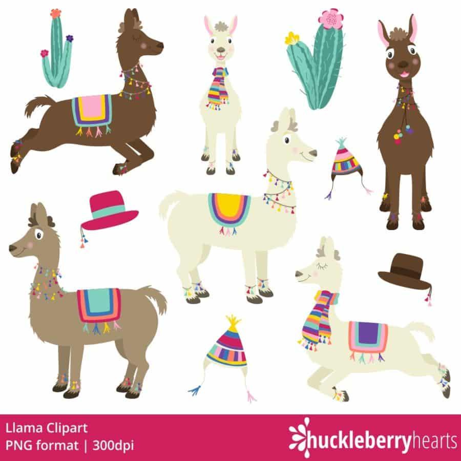 Llama Clipart