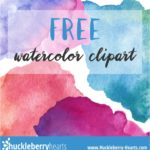 Free Watercolor Clipart Printable