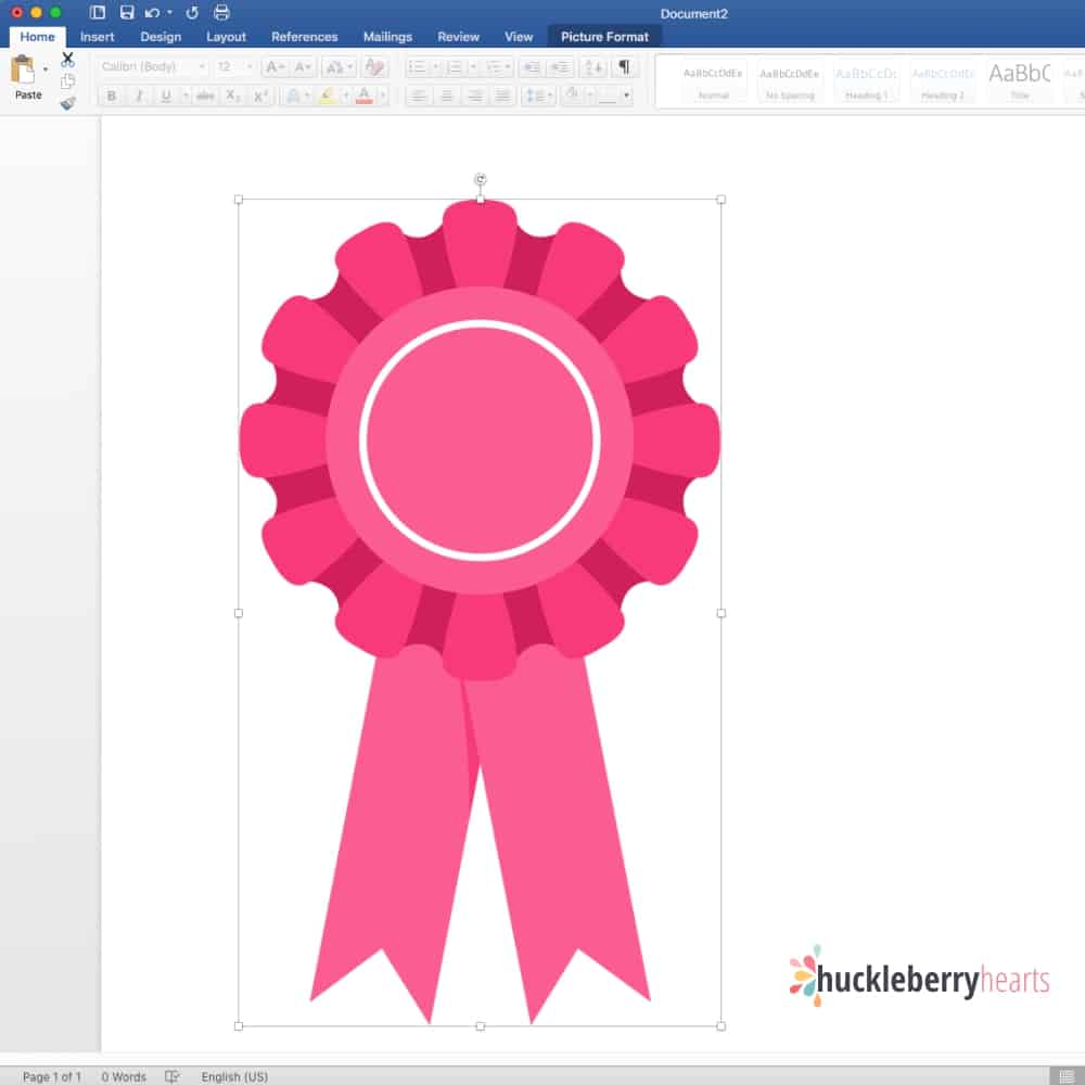 Edit Images in Microsoft Word