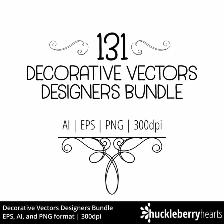 Decorative Vectors Designers Bundle