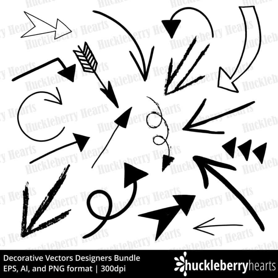 Decorative Vectors Designers Bundle