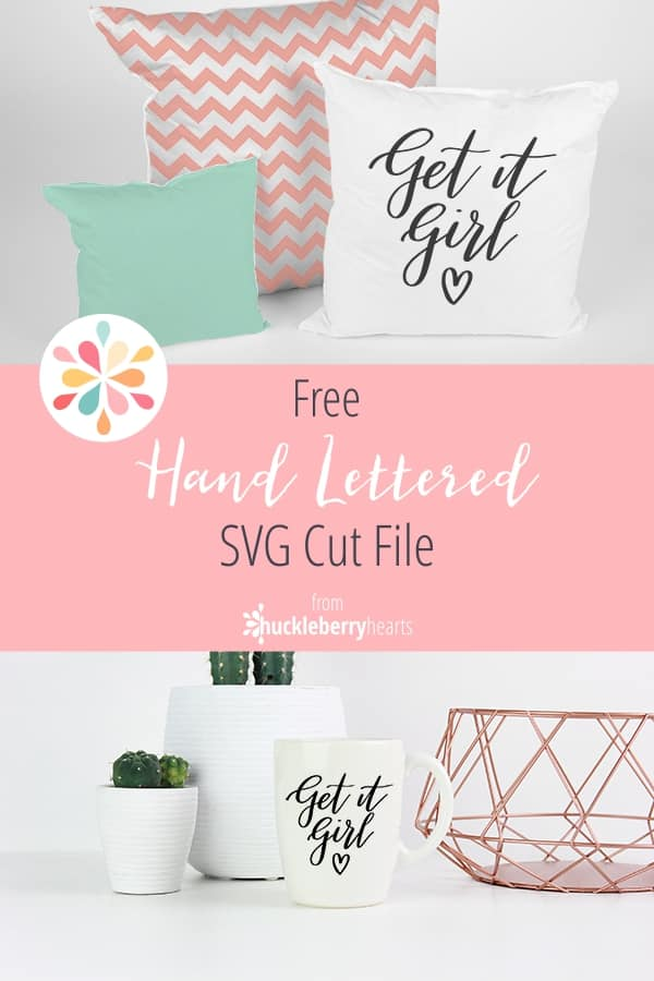 Hand Lettered Free SVG Cut File