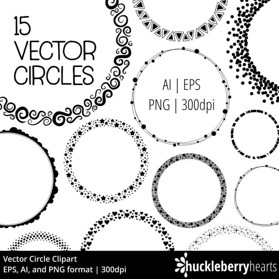 Vector Circle Clipart