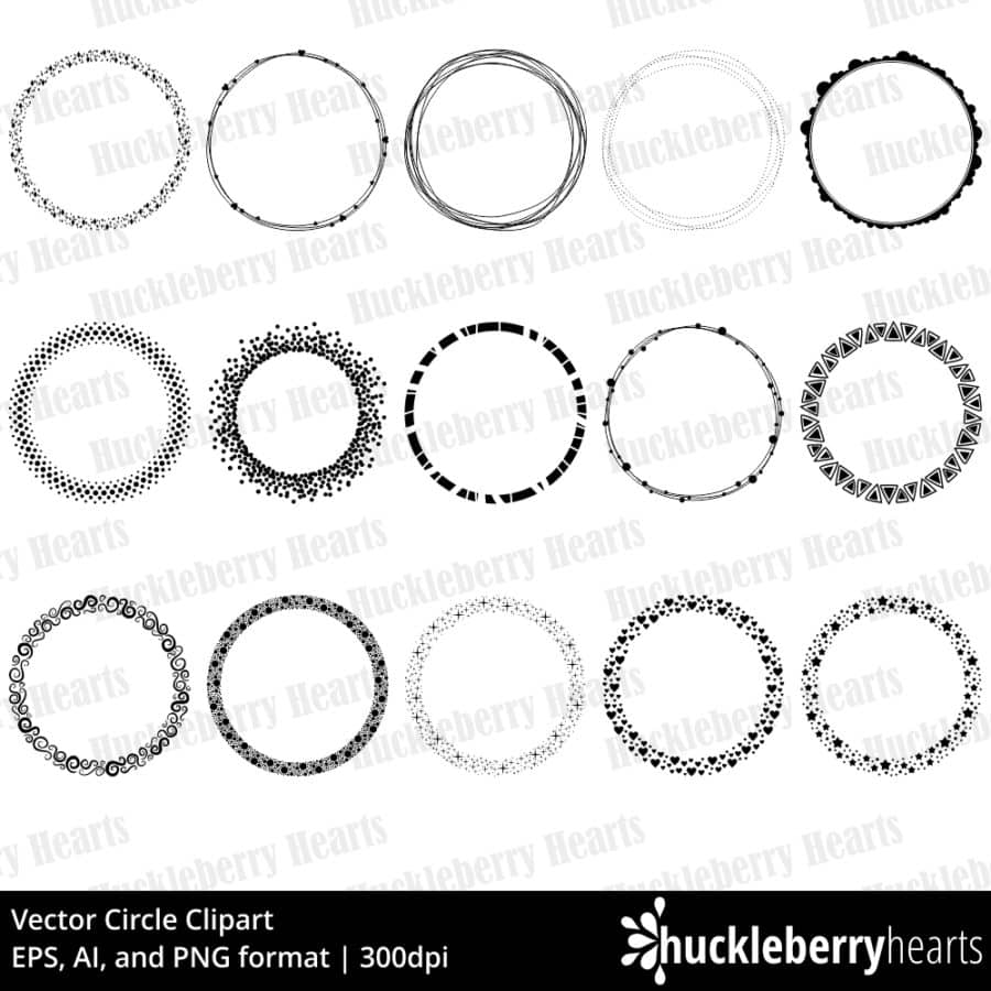 Vector Circle Clipart