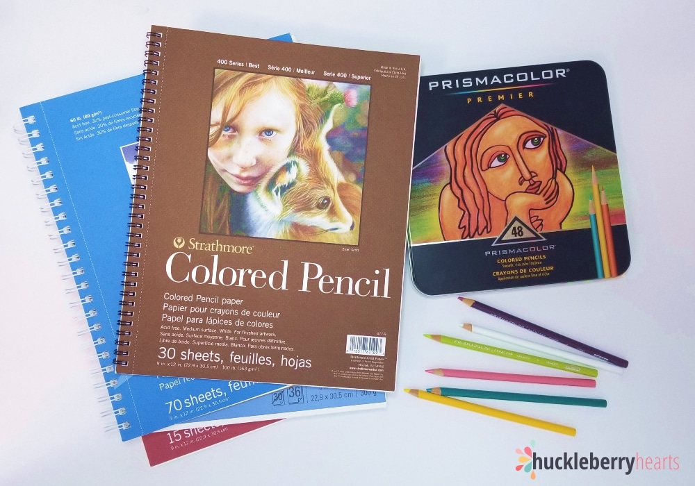 Colored Pencil Basics for the Beginner
