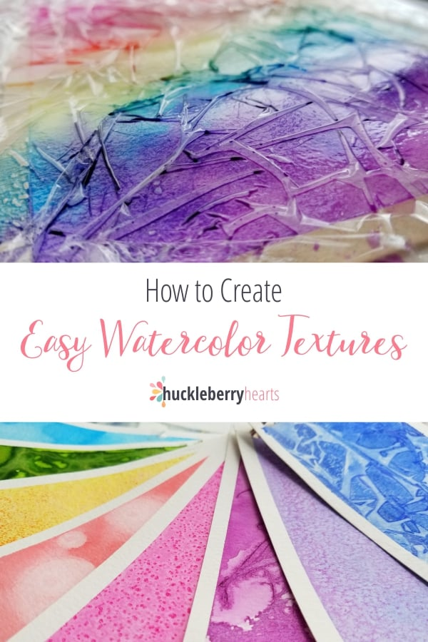Creating Watercolor Textures