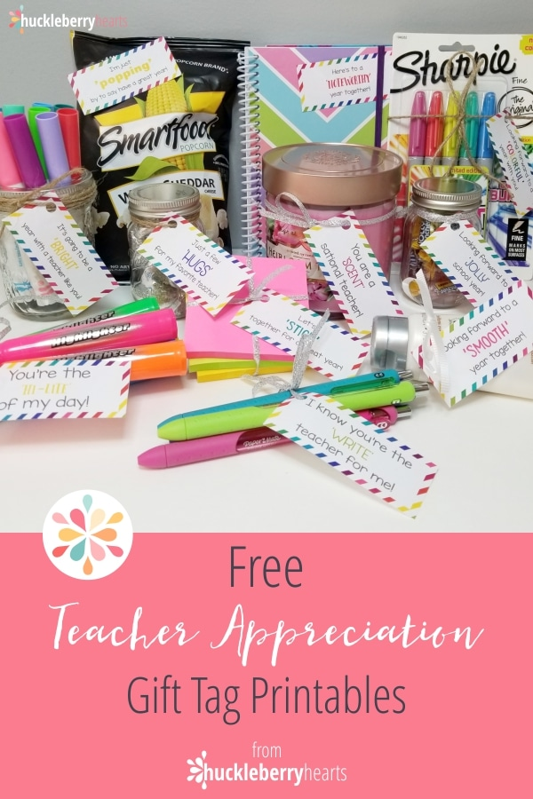 photo regarding Free Printable Teacher Appreciation Tags referred to as Again in direction of College Totally free Instructor Appreciation Present Tags