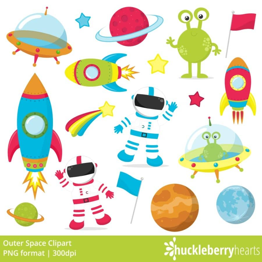 Outer Space Clipart