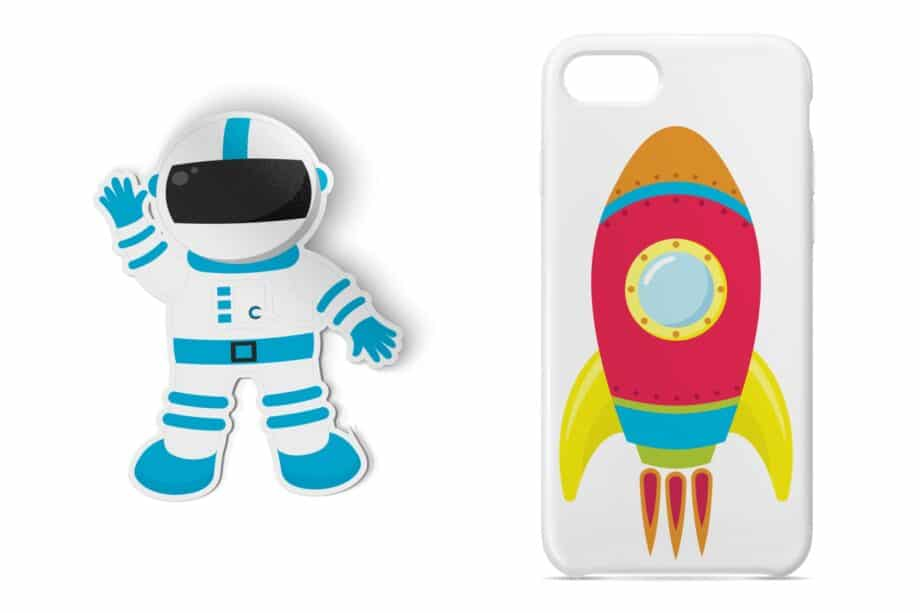 Outer Space Clipart Sample 5