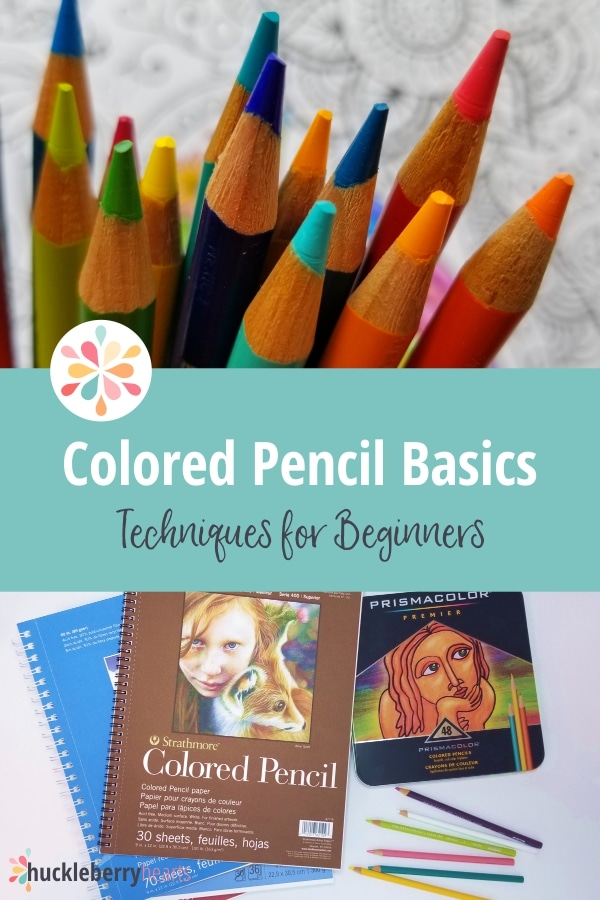 Basic Colored Pencil Techniques for the Beginner
