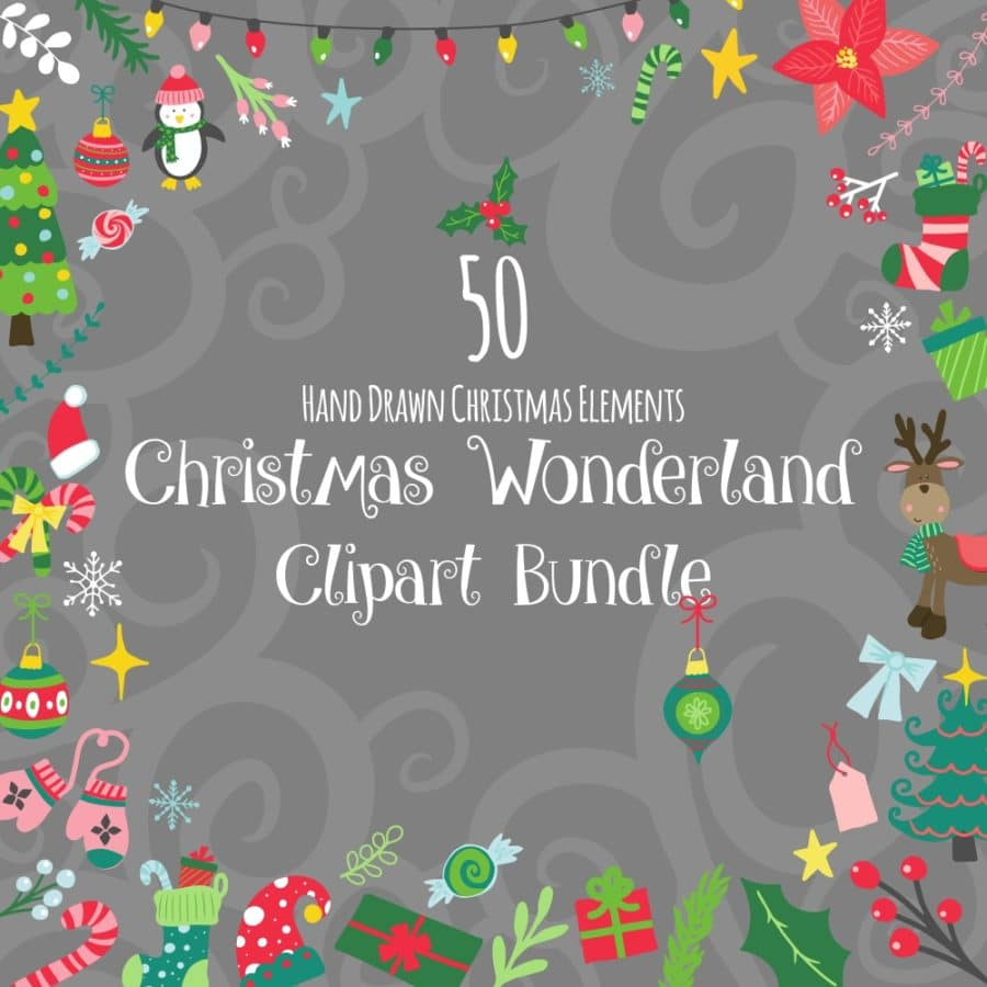 Christmas Wonderland Clipart