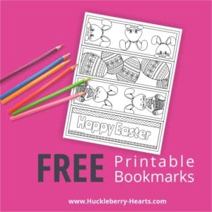 Free Easter Bookmarks Printables