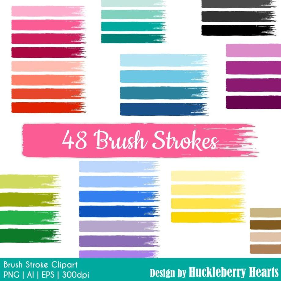Brush Stroke Clipart