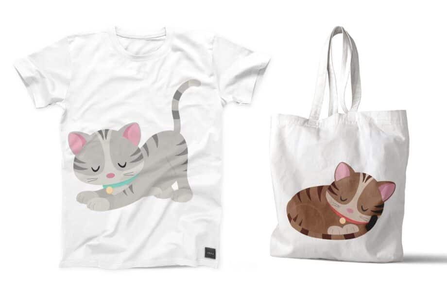 Cute Kitten Clipart Sample 5