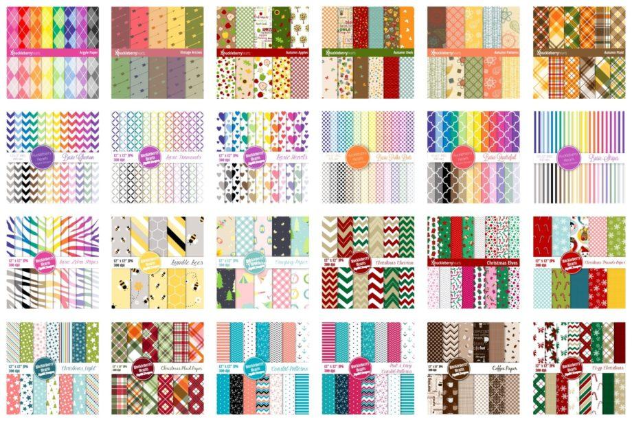 Big Pattern Bundle Sample 1