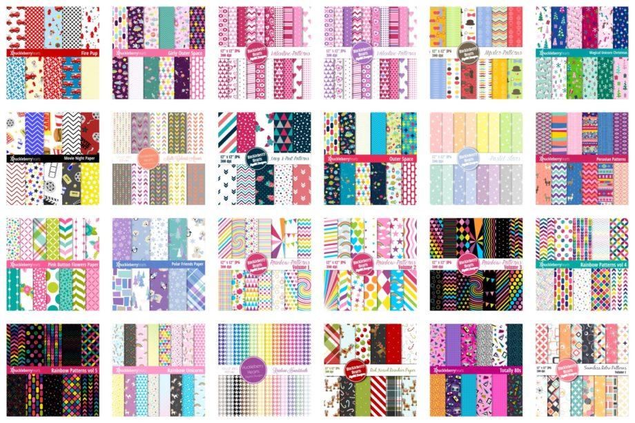 Big Pattern Bundle Sample 2
