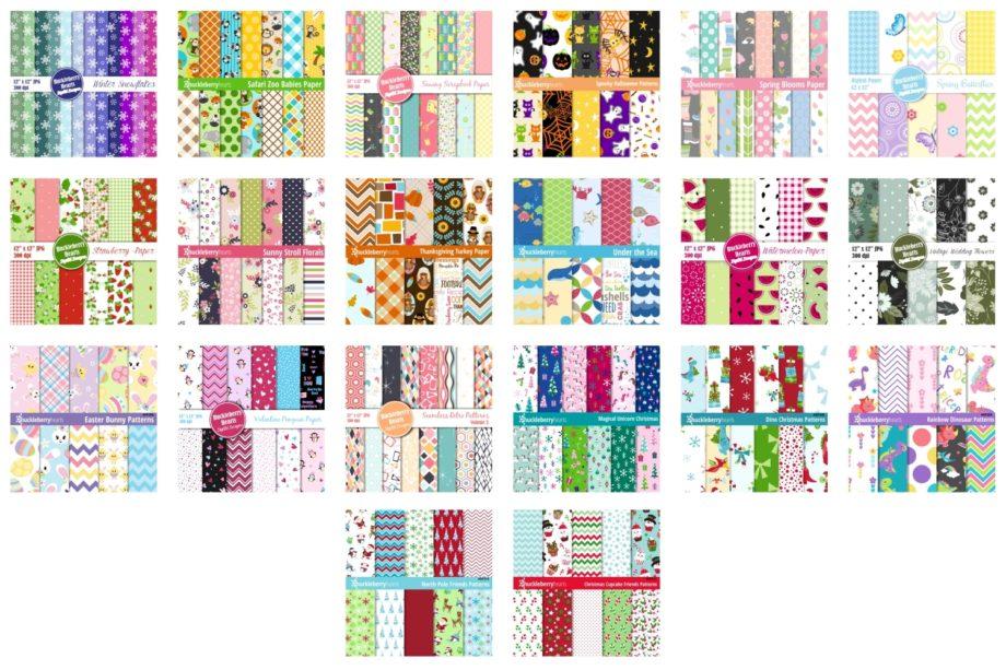 Big Pattern Bundle Sample 3
