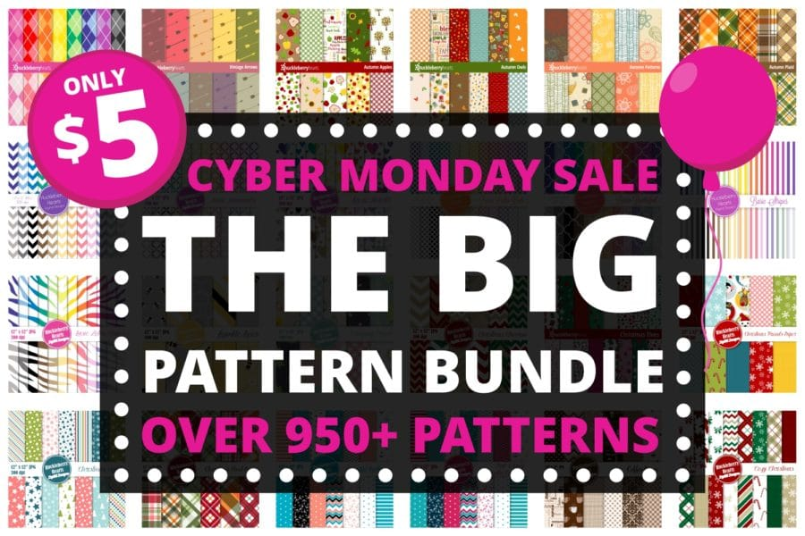 Digital Scrapbook paper bundle